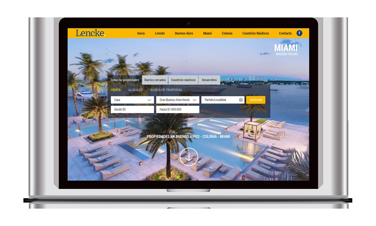 Lencke Diseño Web