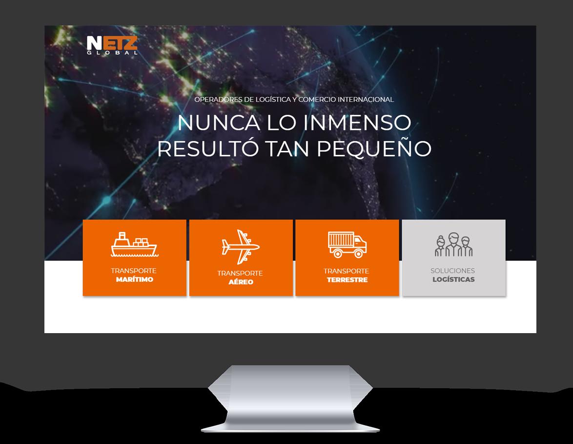 Netz Global Diseño Web