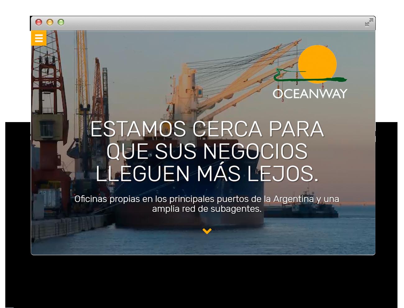 Oceanway Diseño Web