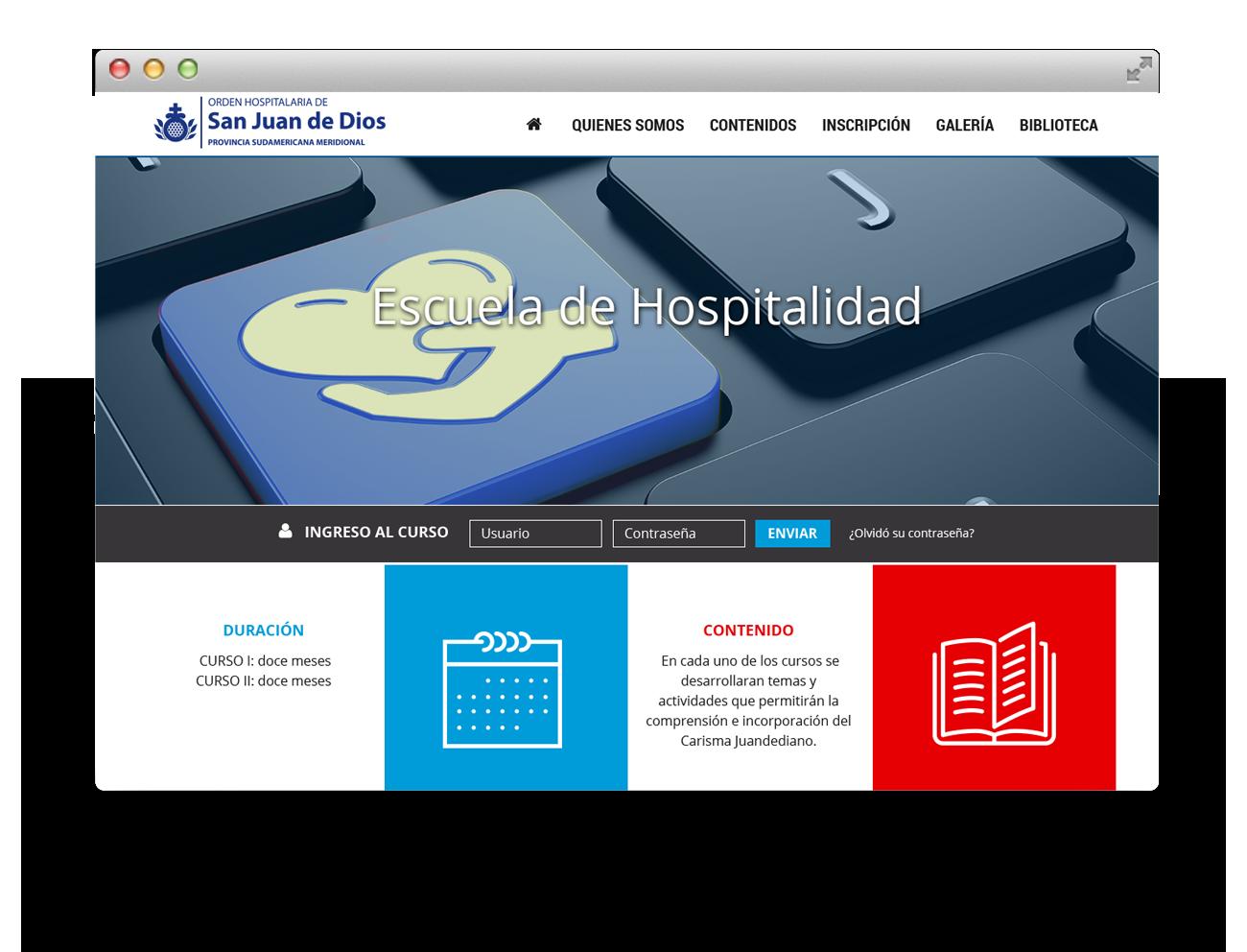 San Juan de Dios Diseño Web