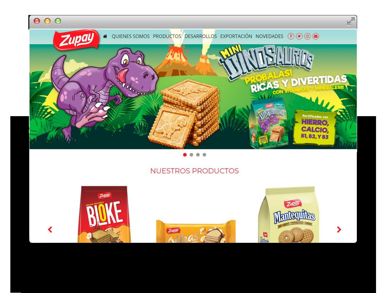 Zupay Diseño Web